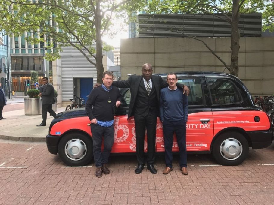 Branded taxis lend profile and practicality to 13th BGC Charity day