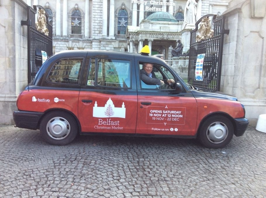 Taxis for Belfast Christmas Market