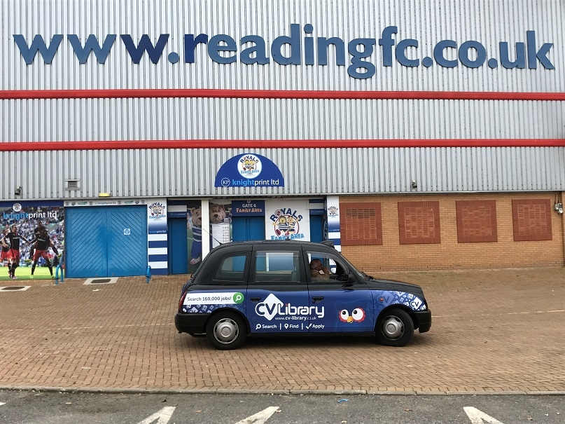 Regional taxi campaign for CV Library
