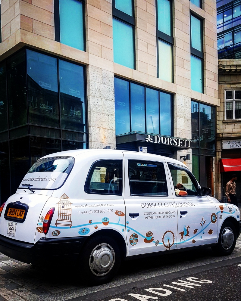 New London hotel turns to Black Cab Advertising to help with promotion
