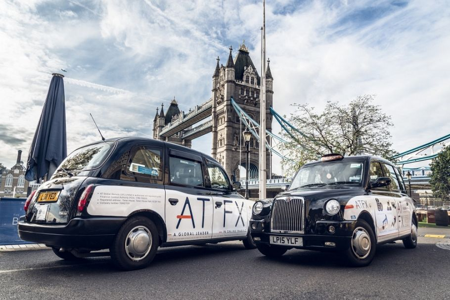 Taxi campaign for ATFX